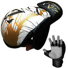 Rex Leather Grappling Gloves Cage Fight Boxing MMA Training Gloves S to XL