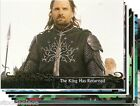 LORD OF THE RINGS Trading Cards BUY ONE CARD get NINE FREE! (Your Choice) 37-89