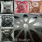 1 X Silver Velvet Floral Cushion Cover ($4.99 only Black)