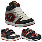 **BOYS INFANT AMAZING SPIDERMAN SCHOOL FASHION TRAINERS VELCRO KIDS SHOES SIZE