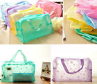 New Portable Makeup Cosmetic Toiletry Travel Wash Toothbrush Pouch Bag Organizer