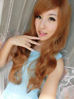 New Style Womens Girls Sexy Long Fashion Curly Full Wavy Hair Wig 4 Colors Hot