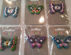 NOVELTY FRIDGE MAGNETS  BUTTERFLY DESIGN DIFFERENT COLOURS  AND DIFFERENT DESIGN