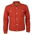 Levis Slim Fit Trucker Bedford Cord Red Mid Jacket