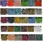 SS6-SS30 2,3,4,5,6MM 32 COLOR Crystal DMC HotFix Iron FlatBack Rhinestones