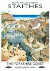 223 Vintage Railway Art Poster Staithes   *FREE POSTERS