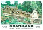 220 Vintage Railway Art Poster Goathland North Yorks (Heartbeat)   *FREE POSTERS