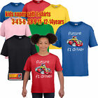 Koolart 1469 Go Kart RACING KARTING KIDS BOYS GIRLS T SHIRT COOL FUNNY GIFT IDEA