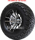 """12"""" RHOX RX101 Wheel with Tire Combo and EZGO Golf Cart Lift Kit"""
