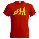 Big Bang Theory Evolution of Robot T shirt inspired by Sheldon Cooper