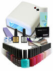 Best Value Professional Bluesky UV Nail Gel starter kit - FREE 10 Shellac wraps