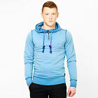 Mens Slim Fit Hoodie Designer Hooded Cotton Jumper Fitted Pullover Sweatshirt