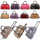 "LADIES 19"" - 21"" HAND LUGGAGE WITH WHEELS WEEKEND TRAVEL BAG HOLDALL"