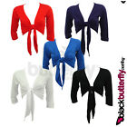 New Tie Up Bolero Shrug Cardi Top Size 10 - 20
