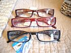 """MEN OR LADIES """"EXTRA HIGH STRENGTH"""" READING GLASSES/MAGNIFIERS R118(6.50-7.00)"""