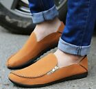 New Mens Casual Suede Zip Slip Ons Loafers Driving Moccasins Shoes Sneakers A409