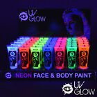 UV Glow Blacklight UV Face & Body Paint - 0.34oz Tubes Wholesale Bulk Lots Neon
