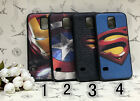 Fashion Hero Iron Superman Captain America Soft Case For Samsung Galaxy S5 i9600