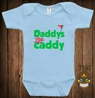 Funny Golf Baby Clothes Infant Bodysuit Cute Shower Gift One Piece Creeper