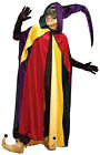 Regal Jester Cape Carnival Mardi Gras Fancy Dress Halloween Costume Accessory