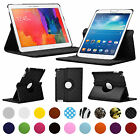"CASE FOR SAMSUNG GALAXY TAB TABLETS 7-10.1"" INCH 360 ROTATING SMART COVER STAND"