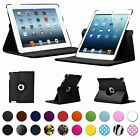 "CASE FOR APPLE IPAD TABLETS 7.7"" 9.7"" INCH 360 PU LEATHER SMART COVER STAND"
