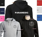 Paramedic Sweatshirt Emergency Medical Services Hoodie - TWO SIDES PRINT S-3XL