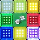 10W Cool Warm White Royal Blue Red Green Purple UV High Power LED Spot Light DIY