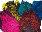 GradeAA Dyed Badger Cock Cape, Choice from 5 colours,Fly tying feathers, Craft
