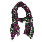 Wool Blend Gothic Designed Scarves/ Stoles for Ladies