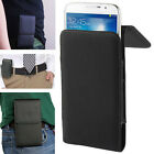 Case PU Leather Belt Clip Pocket Pouch Bag Cover Holster For  Mobile Smart Phone
