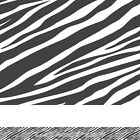 ZEBRA PRINT animal stripes personalised bedroom wall wallpaper BORDER STRIPS