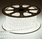 Hot 110-130V 3528 & 5050 White Flexible LED SMD Strip Lights 60Leds/M Waterproof
