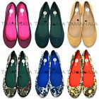 Pretty Womens Lady Ballet Flats Casual Ballerina Comfort Shoes NEW Camouflage