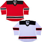 New Jersey Devils  NHL Style Replica Hockey Jersey  NO LOGO DJ300 $33.75 USD on eBay