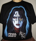 Kiss Ace Frehley 1978 Solo Album Retro T-Shirt Size S M L XL 2XL 3XL Rock Band