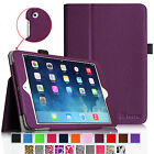 for iPad mini 3 2 1 4 Slim Fit Folio Leather Case Stand Cover Auto Sleep/Wake