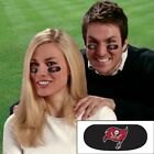 NFL Football Team Logo 6 Pack Eye Black Strips Vinyl Face Decorations Stickers