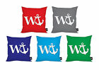 """W ANCHOR DESIGN IDEAL GIFT 18"""" X 18"""" CUSHION 5 COLOURS AVAILABLE"""