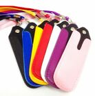 PU Leather Case Pouch Necklace Lanyard For EVOD eGO T CE4 MT3 E Shisha Pen