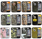 Heavy Duty Hunting Tough Camo Shockproof Case Cover for iPhone 4 4s
