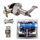 Constructor Prelude Satin Nickel Door Lock Set Lever Entry Privacy Passage Dummy