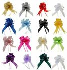 4 quick pull bows rosette gift wrap hampers flowers party Wedding Car Pew Church