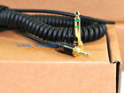 Replacement DJ Headphone Cable Cord Line With PLUG for Repairing Headphones