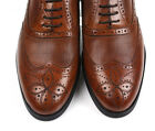 Men's Cow Leather Shoes Dress/Formal Business Vogue R6221 Brown Black 5~12 37~45