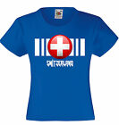 Unisex Kids Switzerland Flag T-Shirt On Fruit of Loom VWeight tshirt-12 Colours
