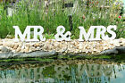Mr & Mrs White/Wooden Letters, Wedding Gift Favours, Top Table Decoration