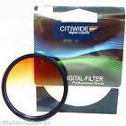 Citiwide CW 52/55/58/62/67/72/77 mm Graduated Orange Color Special Effect Filter