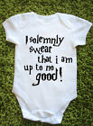 I solemnly swear that I am up to no good Baby Vest Grow Harry Potter J1014