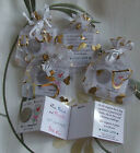- 17th to 29th ♥ANNIVERSARY♥ Personalised Gift Wedding Together Keepsake Favour